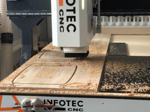 Frezowanie CNC drewna